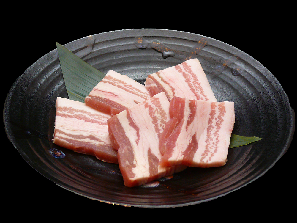 Meat that fibrous meat Fit a finely soft boasts. The original taste and flavor pork is rich in high-quality meat.