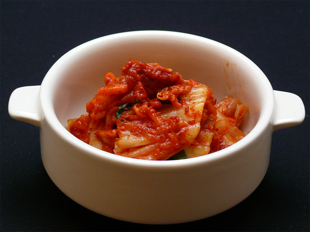Gen. own original kimchi Korean direct route.