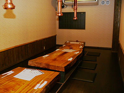 Parlor 12 seats (private room) digging your stand formula